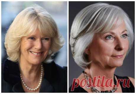 Прически для женщин 60 лет на средние волосы омолаживающие: стрижки для пожилых с круглым лицом, которые молодят, модные варианты на тонкие локоны
