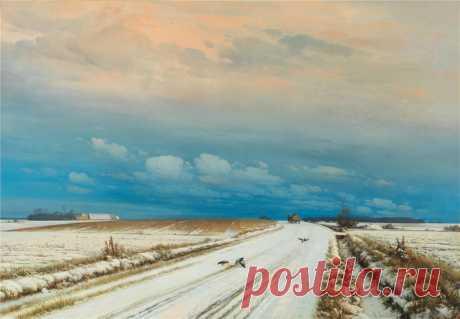 Может, снег – это грёза о жизни безгрешной по-детски?...Anders Andersen-Lundby
