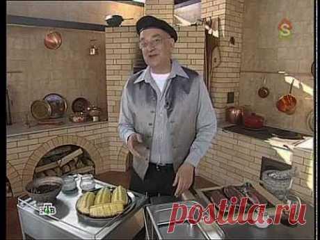 Сталик: шашлык из ананасов с утиной грудкой