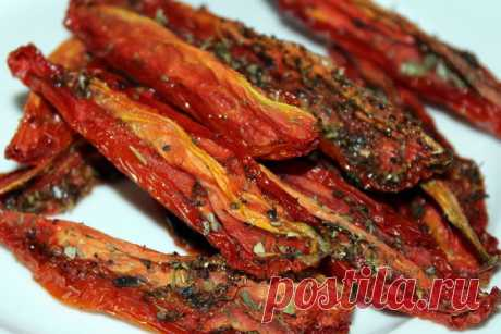 Вяленые помидоры   Домашняя кухня   Яндекс Дзен