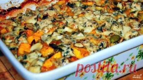 Курица с тыквой - пошаговый рецепт с фото на Повар.ру
