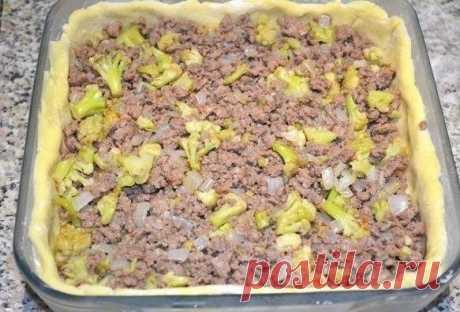 Открытый Мясной Пирог из картофельного теста «Большой кулак»