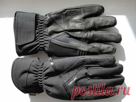 Горнолыжные перчатки Wedze 500 Softshell Waterproof 700грн