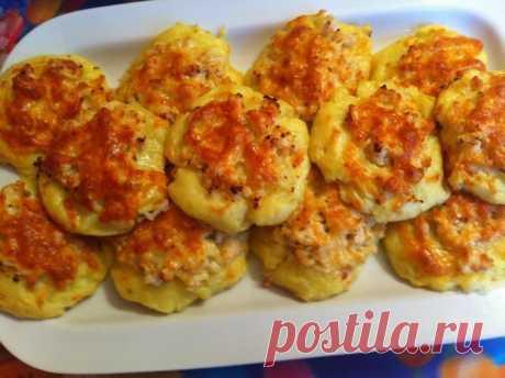 Как вкусно накормить семью? Делюсь секретом! Готовим вкуснейшие картофельные ватрушки
