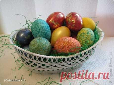 Покраска яиц рисом за пару минут. Красиво и необычно! — Сделай сам, идеи для творчества - DIY Ideas