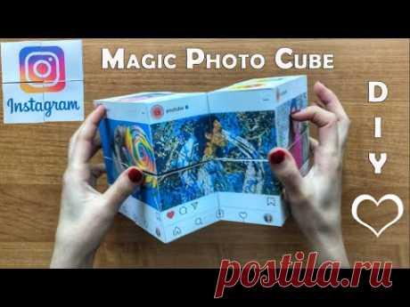 Как сделать ФотоКуб Инстаграм | How to make Photo Cube Instagram | DIY IDEAS