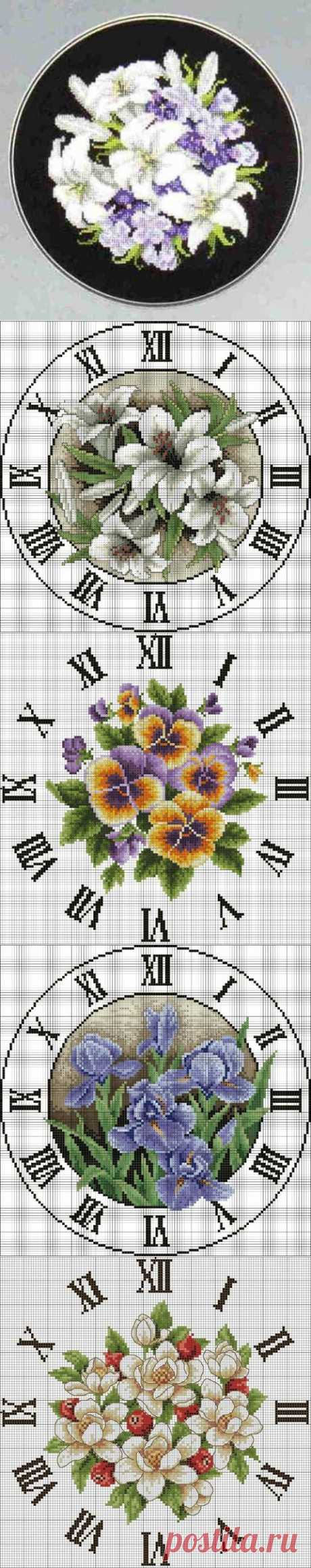Лилия на черном / Схемы вышивки крестиком / PassionForum - мастер-классы по рукоделию