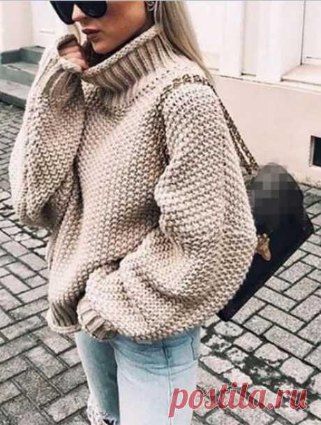72 самых модных свитеров 2019/2020 - схемы вязания