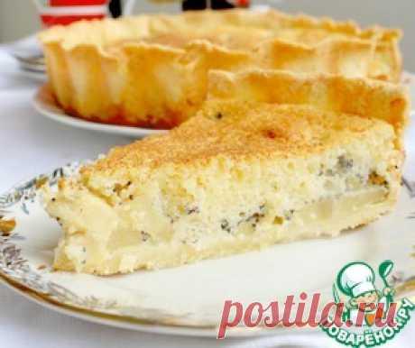 Яблочно-маковый пирог - кулинарный рецепт
