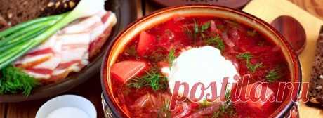 Первые Блюда | Русская кухня