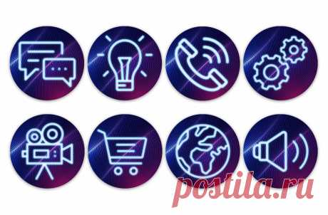Тёмные значки, обложки для актуального в инстаграм вы можете скачать на сайте instapik.