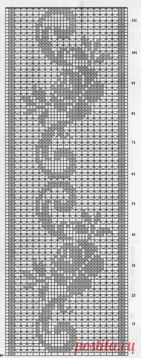 «Крючок. Салфетка прямоугольная ажурная с декоративным цветоч» — карточка пользователя Раиса Б. в Яндекс.Коллекциях