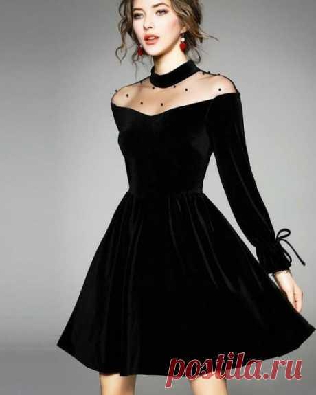 Маленькое черное платье с изюминкой