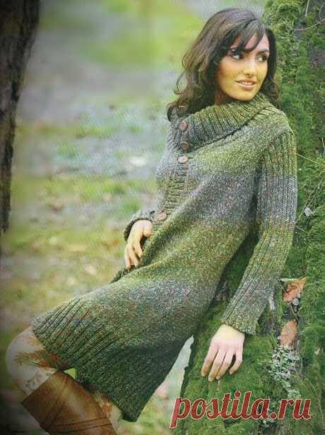 Вязание для женщин. Вязаное пальто. Подробное описание вязания. | Светлана | Яндекс Дзен