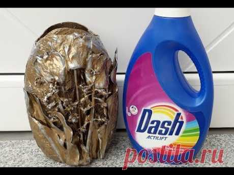 Vaza din plastic decorata cu flori naturale----Plastic vase decorated with natural flowers - YouTube
