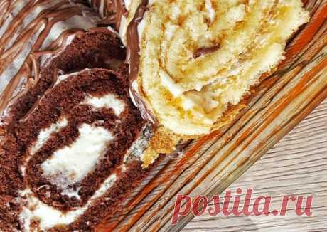(5) Бисквитный рулет по ГОСТу - пошаговый рецепт с фото. Автор рецепта Yulia Stoppel . - Cookpad