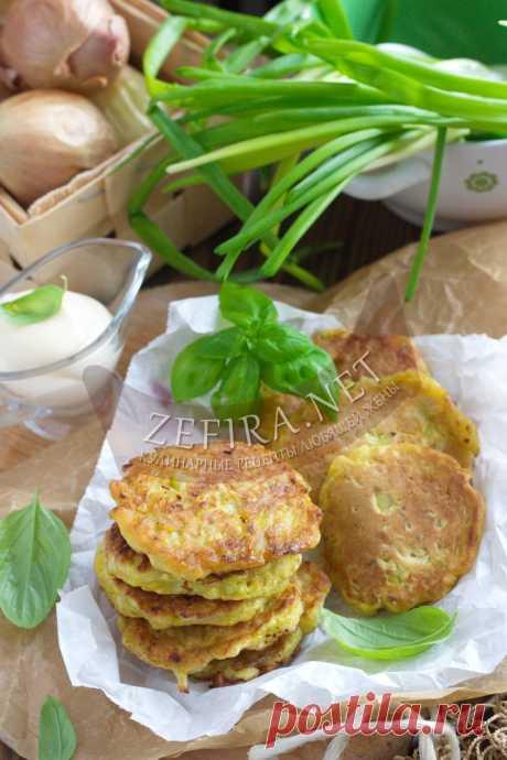 Вкуснейшие оладьи с луком — Кулинарные рецепты любящей жены
