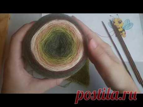 Обзор пряжи Nako Angora Luks Color , отзыв , образец