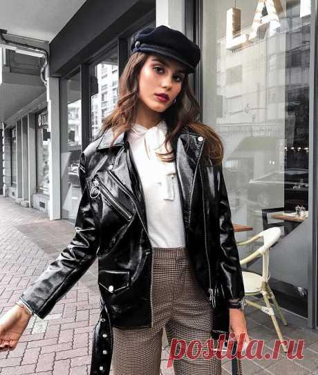 Кожаная куртка: 5 актуальных моделей весны 2020 — info boom