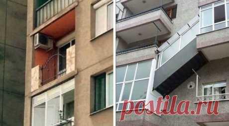 15 балконов, способных озадачить архитекторов Кажется, балконы – это отдельное направление изобретательской мысли нашего народа. Мало того, что их еще с советского времени многие используют просто как склад для нужных и ненужных в доме вещей. Так некоторые еще испытывают на балконах свои дизайнерско-архитектурные таланты. Да так, что если результат их труда и выдумки увидят настоящие архитекторы и дизайнеры, то они минимум ахнут.