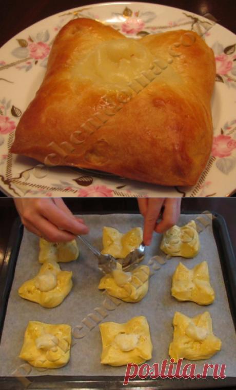 Итальянские булочки с заварным кремом | Pechemdoma.com