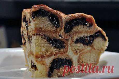 Вкусный торт с черносливом