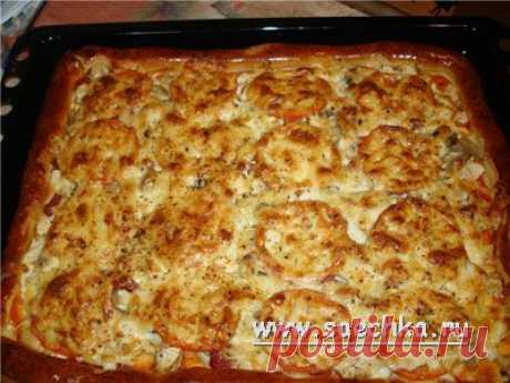 Pizza | recipes on Saechka.Ru