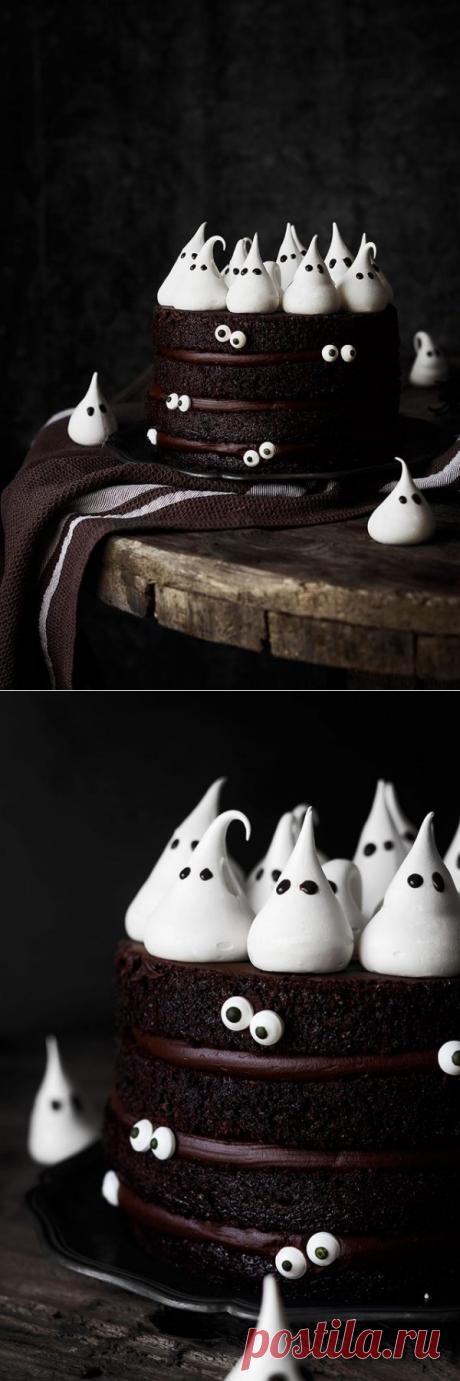 Шоколадный торт на Хэллоуин | HomeBaked