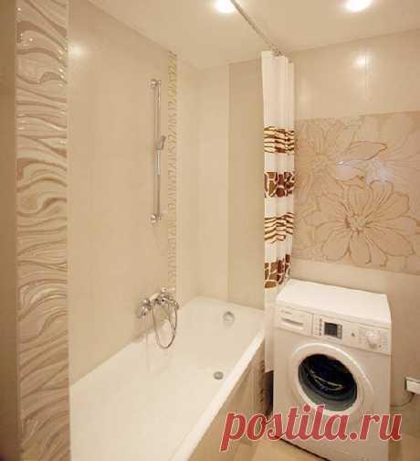 Ремонт маленькой ванной — 35 фото удачного оформления интерьера