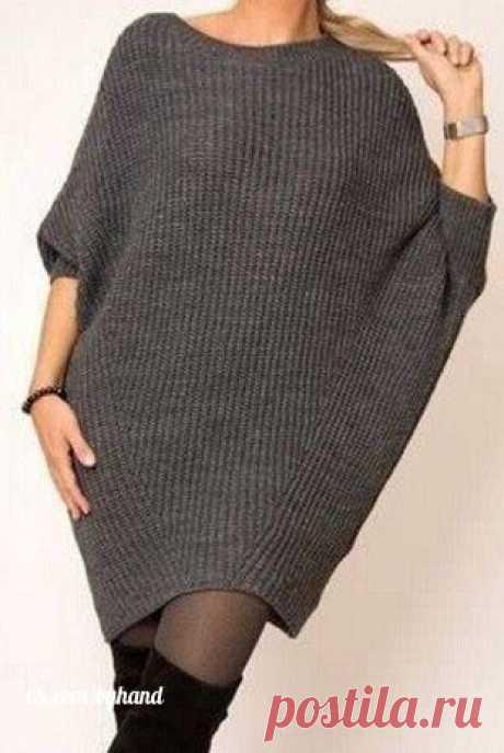 La túnica del corte simple\u000a\u000a#byhand | #шитье | #handmade | #рукоделие | #мастеркласс