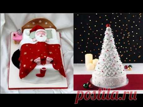 Top 15 Amazing Christmas Cake Decorating Ideas Compilation 2018 - Most Satisfying Cake Videos