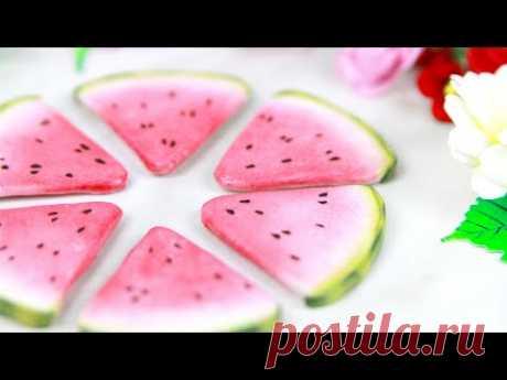 Кусочки арбуза из фоамирана: показываю результат творческого эксперимента 😉🍉 watermelon slices DIY