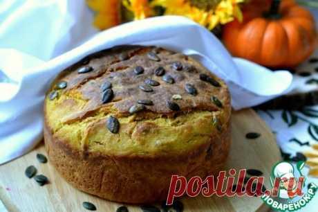 Тыквенный хлеб - кулинарный рецепт