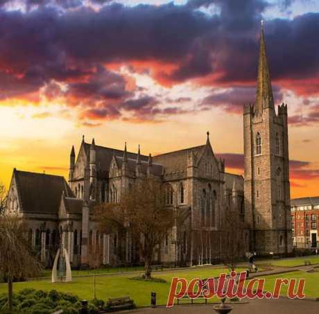 Desde Neuquén, Argentina Catedral de San Patricio en Dublín, Irlanda.