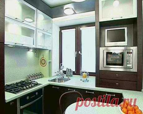 Кухня 5 кв. м: полезные идеи для оформления интерьера