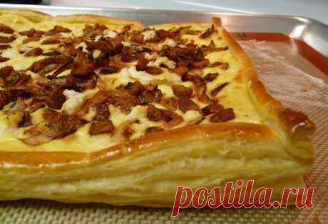 Луковый пирог с беконом — Sloosh – кулинарные рецепты