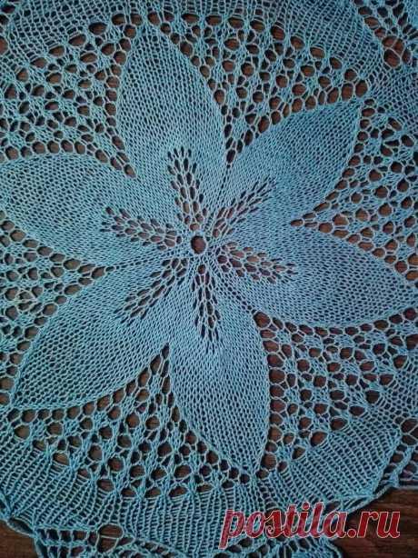 Crochet doily blue doily lace doily lace doilies round | Etsy