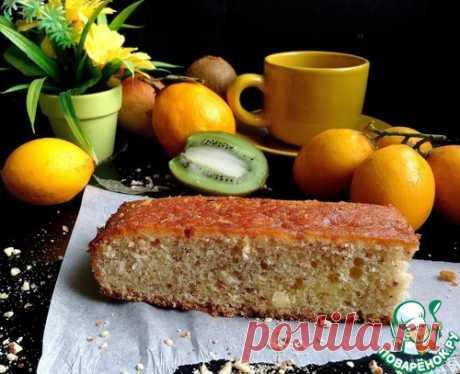 """Лимонный пирог """"Эксклюзив"""" - кулинарный рецепт"""