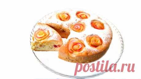 Необычная Шарлотка ✧ Супер пирог с яблоками | Грузинская Кухня от Софии | Яндекс Дзен
