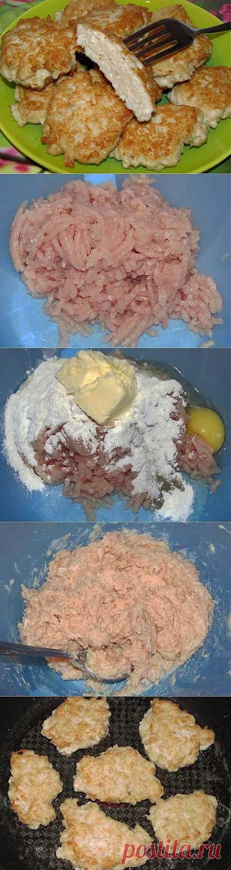 Быстрый ужин: Куриные оладьи