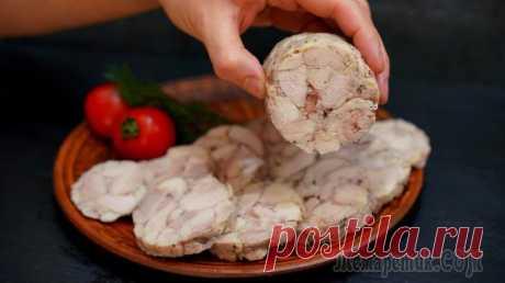 Нет магазинной колбасе - 99% мяса без желатина и оболочки