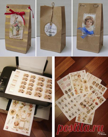 Оформляем упаковку под подарок для покупателя - Ярмарка Мастеров - ручная работа, handmade