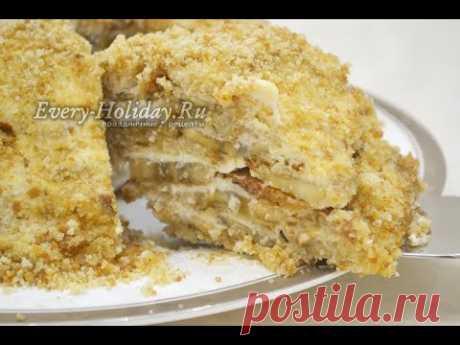 Торт за 10 минут без выпечки всего из 3-х ингредиентов