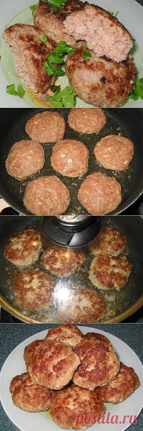 Tasty cutlets |