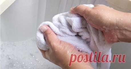 7 простых способов отстирать грязные кухонные полотенца — СОВЕТ !!!