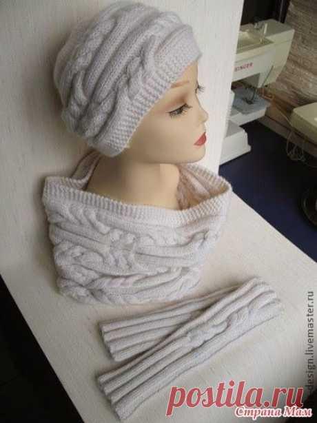 (234) Pinterest - Вязание для всех Шапочка от Риана   вязание спицами