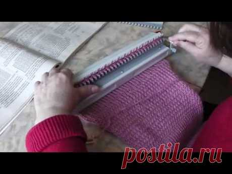 We knit by Ivushka car. Lesson 10. Knitting of an elastic band with a small prefix