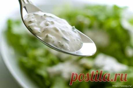 ПОХУДЕЙКИНЫ РЕЦЕПТЫ. Низкокалорийные соусы на основе йогурта