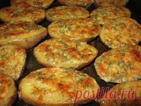 шеф-повар Одноклассники: Чесночный картофель.
