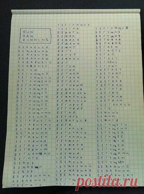 Великий русский язык в сравнении с английским | Русское поле